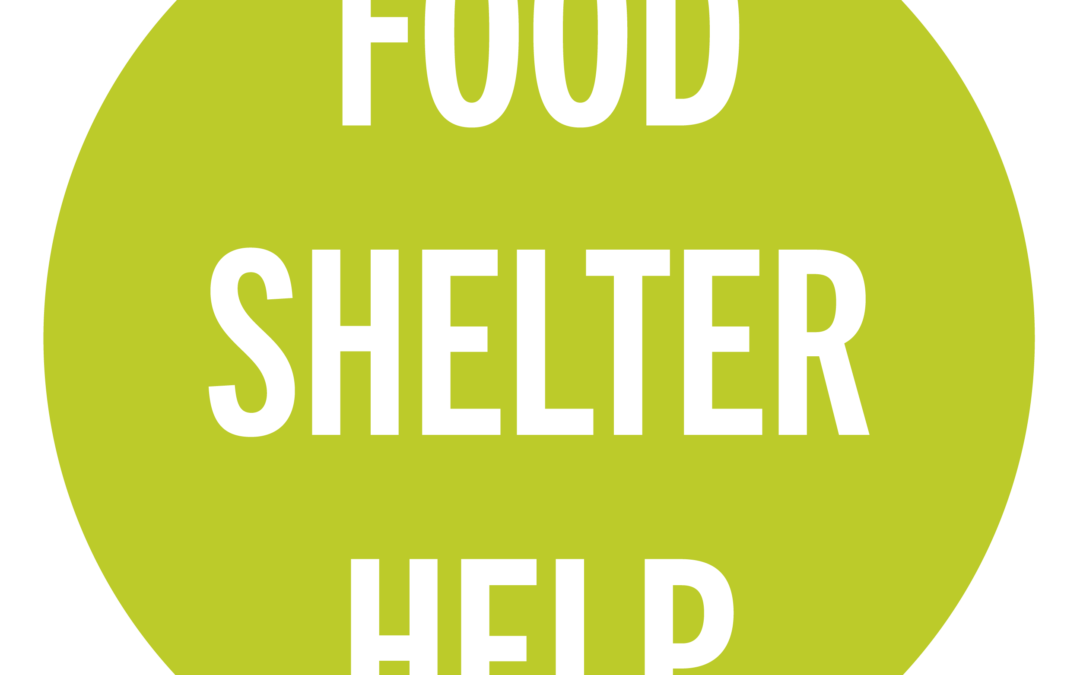 Food Help Shelter Resource Guide